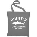 Styletex23 Quint's Shark Fishing Amity Island Jutebeutel Baumwolltasche