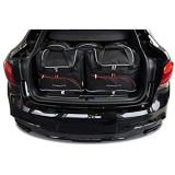 KJUST Dedizierte Reisetaschen 5 STK Set kompatibel mit BMW X6 F16 2014 - 2019