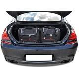 KJUST Reisetaschen 4 STK Set kompatibel mit BMW 6 Gran Coupe F06 2012 - 2018
