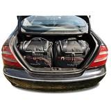 KJUST Reisetaschen 4 STK Set kompatibel mit Mercedes-Benz CLK W209 2002 - 2010