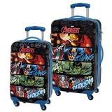 Marvel Avengers Koffer-Set 67 Liter Schwarz