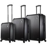 Mia Toro Toro Italy Rotolo Hardside Spinner Luggage 3PC Set Koffer 84 cm Weiß (White)