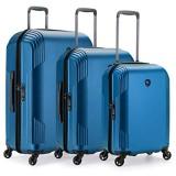 Traveler's Choice Riverside Premium Ultraleichtes Polycarbonat Hardside Gepäck mit Spinnrollen TSA-Schloss