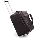 Adlereyire Laptop Trolley-Tasche mit hohen Kapazität Stilvolle Leicht Seesack Convenient Roller Wasserdicht Verschleißbeständige Schutz (Color : Brown Size : 50 * 27 * 30cm)