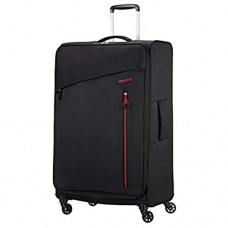 American Tourister Litewing 4-Rollen-Trolley 81 cm Volcanic Black
