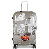 Reisekoffer Claymore auf 4 Räder 66 cm Venice Auto FIAT Bunt Bowatex