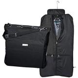 Lasermax Kleidersack mit Metallschild Farbe: schwarz