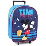 Disney Mickey Mouse Trolley Kinderkoffer - Blau