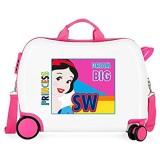 Disney Princess Kinder-Koffer Mehrfarbig 50x38x20 cms Hartschalen ABS Kombinationsschloss 34L 2 1Kgs 4 Räder Handgepäck