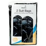 New 2Reise Kleidersack zum Aufhängen Reißverschluss bis Mantel Kleid Garment Cover Kleidung Displayschutzfolie Shopmonk