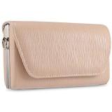 BAIGIO Damen Umhängetasche Elegante Abendtasche Kettentasche Clutch für Party Hochzeit (Aprikosegelb)