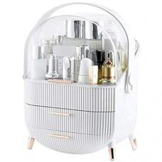 VIVICF Make Up Organizer Schublade Staubdicht Kosmetik Aufbewahrung Beauty Organizer Kosmetikorganiser Aufbewahrung Schmink Schminktisch Aufbewahrung Kosmetikbox Für Dresser Bad Schlafzimmer