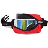 flexi-gurt - Dehnbare Bauch-Tasche Flexible Gürtel-Tasche Running-Belt Startnummern-Band für Sport Laufen Joggen Freizeit Reisen ideal für Wertsachen Smartphone Sportnahrung