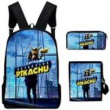 SUNY 3 Pcs Kinderrucksack Schulrucksack Schultasche 3D Backpack Mädchen Jungen Kinder Schultaschen-Sets Mit Brotdose Und Federmäppchen