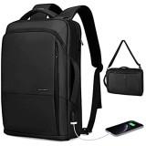 MARK RYDEN Business Laptop Rucksack 3 in 1 wasserdichte Umhängetasche Handtasche für Männer und Frauen mit USB-Anschluss für 15 6-Zoll-Laptop