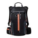 10L Leichter Fahrradrucksack Atmungsaktiver Fahrradrucksack wasserdichte Packsäcke Faltbare Laufschuhe Unisex Daypacks zum Radfahren Wandern Camping