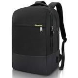 Laptop Rucksack Business für 15 6 Zoll Laptop mit USB Ladeanschluss Schulrucksack Wasserabweisenden Multifunktionsrucksack Nylon Tagesrucksack für Business Schule Reisen