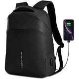 Mark Ryden Anti-Diebstahl Laptop Rucksack 15 6 Zoll Business-Tasche Schul-Tagesrucksack mit USB Ladeanschluss für Herren Dame Arbeiten Reisen Wandern Motorrad