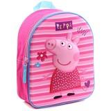 3D Kindergarten Rucksack ca. 31 cm Kinder Tasche Kinderrucksack (Peppa Pig)