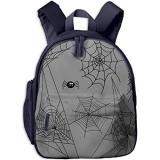 Kinderrucksack Kleinkind Jungen Mädchen Kindergartentasche Spinne Halloween Insekt Spinnennetz Backpack Schultasche Rucksack