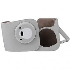 ABOOFAN Instant Kamera Fall Trage Tasche Bär Muster Kamera Tasche PU Leder Tasche mit Verstellbarem Schulter Gurt Kompatibel mit Instax Mini
