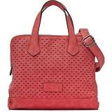 MIYA BLOOM Damen Handtaschen Henkeltaschen Umhängetaschen Crossover-Bags 29 x 21 x 15 5 cm (B x H x T) Farbe:Koralle