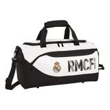 Real Madrid 2018 Kinder-Sporttasche 50 cm Weiß (Blanco)