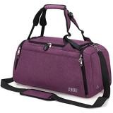 CySILI® Reisetasche Sporttasche mit Rucksack-Handgepäck mit Schuhfach - Nassfach & Zahlenschloss - Männer & Frauen Fitnesstasche - Tasche für Sport Fitness 42L Gym - Travel Bag & Duffel Bag