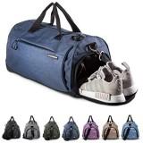 Fitgriff® Sporttasche Reisetasche mit Schuhfach & Nassfach - Männer & Frauen Fitnesstasche - Tasche für Sport Fitness Gym - Travel Bag & Duffel Bag