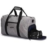 ronin\'s Stilvolle Sporttasche Reisetasche mit Schuhfach und Trinkflaschen-Halter