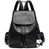 BUKESIYI Damen Tasche Rucksack Handtasche Frauen backpack Klein Anti Diebstahl Schulrucksack Laptop Weekender PU Leder CCDE78140