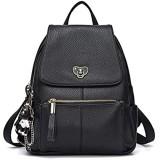 BUKESIYI Damen Tasche Rucksack Handtasche Frauen backpack Klein Anti Diebstahl Schulrucksack Laptop Weekender PU Leder CCDE78300