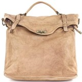 BZNA Bag Gabi taupe Backpacker Designer Rucksack Damenhandtasche Schultertasche Leder Nappa ItalyNeu