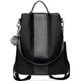 Damenmode Nylon Anti-Diebstahl-Rucksack Wasserdichte Rucksäcke Umhängetaschen Handtaschen Satchel Daypack