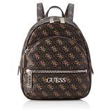 Guess Borsa zaino Manhattan small backpack ecopelle brown BS21GU91 QL699431