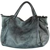 BZNA Bag Diana grau Italy Designer Damen Handtasche Schultertasche Tasche Leder Shopper Neu