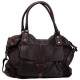 BZNA Bag Viola lila Italy Designer Damen Handtasche Ledertasche Schultertasche Tasche Leder Shopper Neu