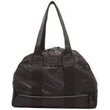 GEORGE GINA & LUCY Damen Handtaschen Bowling Bag Schultertaschen Henkeltaschen 46 x 27 x 17 cm (B x H x T) Farbe:Schwarz