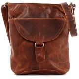 LECONI Umhängetasche Schultertasche Damen Damentasche Frauen Handtasche Ledertasche Used-Look Leder 25x26x5cm LE3072
