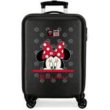 Disney My Pretty Bow Kabinentasche Schwarz 38 x 55 x 20 cm fester ABS-Kombinationsverschluss seitlich 34 l 2 66 kg 4 Doppelrollen Handgepäck.